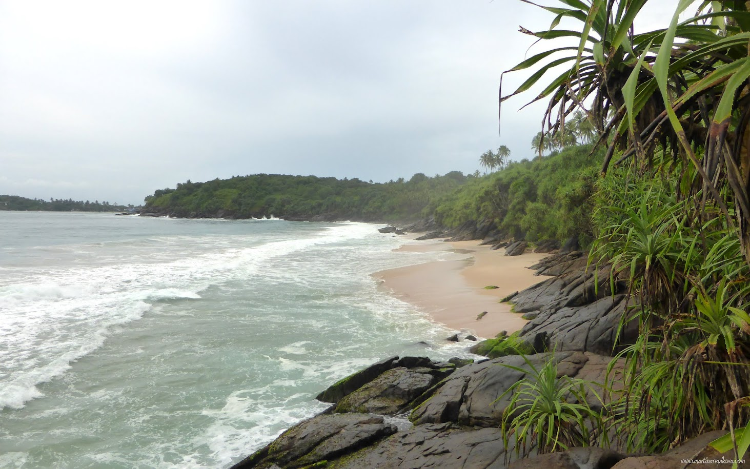 Beach on Sri Lanka