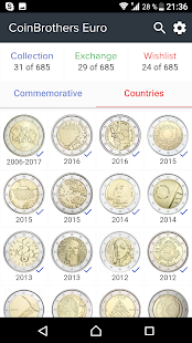 EURO Coins Manager | CoinBrothers - náhled
