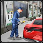 Gas Station Car Mechanic Icon