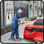 Gas Station Car Mechanic