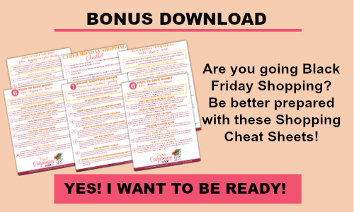Click here to get your FREE Cheat Sheets