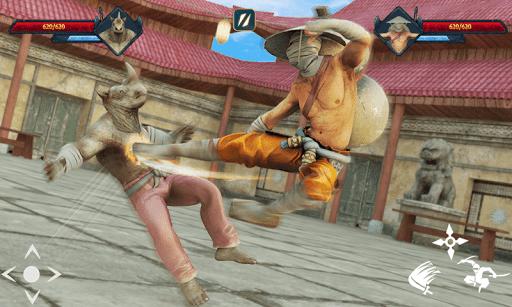 Code Triche ninja kungfu chevalier bataille d'ombre samouraï mod apk screenshots 2