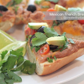 Mexican French Bread Pizza