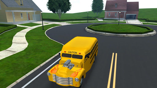 Super High School Bus Driving Simulator 3D - 2018