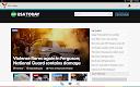 screenshot of myNews - Newspapers and blogs