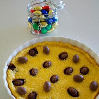 Easter Egg Clafoutis