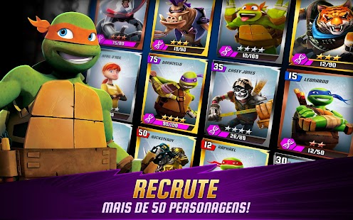 As Tartarugas Ninja: Lendas APK para Android imagem 5