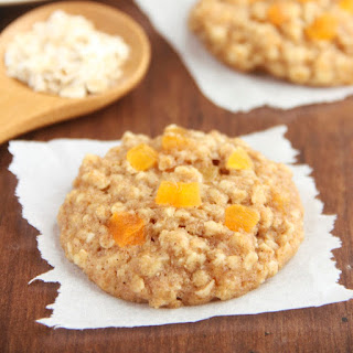 Apricot Oatmeal Cookies.