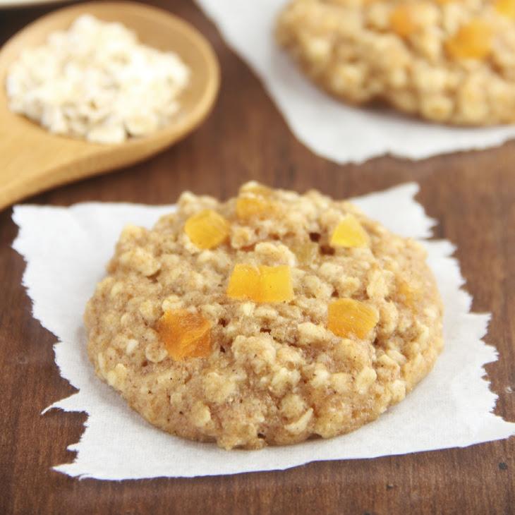 Apricot Oatmeal Cookies Recipe