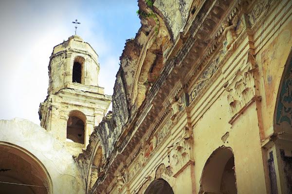 tragiche rovine di malte