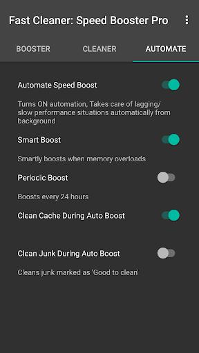 Fast Clean: Speed Booster Pro  screenshots 3