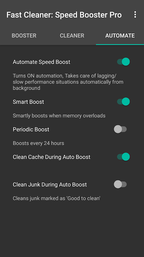 Fast Clean: Speed Booster Pro- screenshot