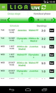Liga Live- screenshot thumbnail