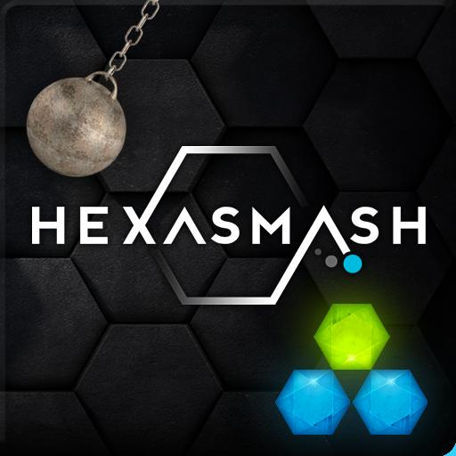 解谜のHexasmash ヘキサゴンスマッシュ物理パズル LOGO-記事Game