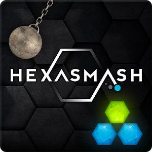 Hexasmash – destroy jewels with perfect timing in this addictive action puzzler