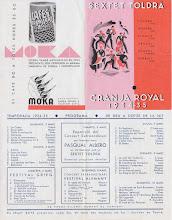 Photo: Saló Doré - Granja Royal - Program Sextet Toldrà 1934-35