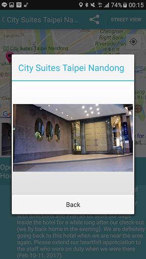 Capturas de pantalla de Taiwan Railway Timetable 8