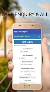Pnr status irctc /train pnr status/indian railway App Download For Android 4