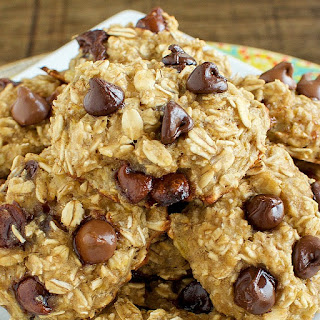 Healthy Chocolate Chip Breakfast Cookies