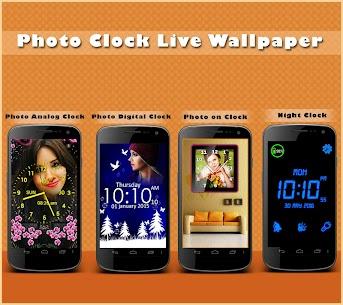 Photo Clock Live Wallpaper 10