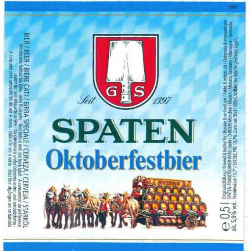 Spaten Oktoberfestbier