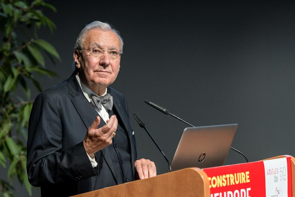 Michel MAFFESOLI, Professeur émérite à l'Université Paris Descartes - Plénière d'ouverture de la 38e rencontre des agences d'urbanisme