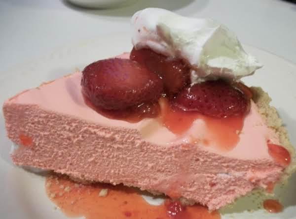 Strawberry Cream Pie Sugar Free