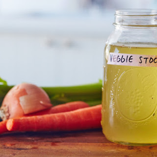How to Make Vegetable Stock Recipe
