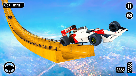 Mega Ramp Formula Car Stunts - New Racing Games for PC-Windows 7,8,10 and Mac apk screenshot 1