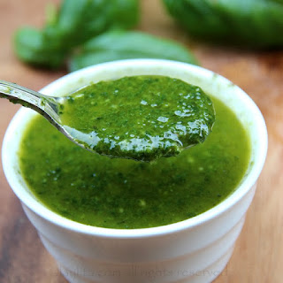 Basil Oil Sauce Recipe