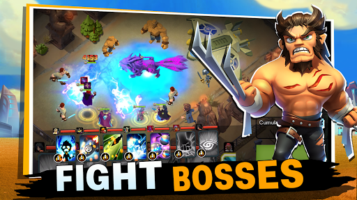 Code Triche Clash of Leagues: Heroes Rising  APK MOD (Astuce) screenshots 5