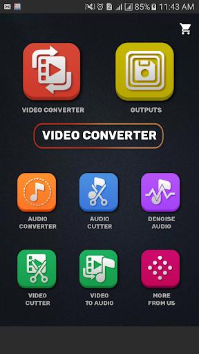 Video Converter, Compressor MP4, 3GP, MKV,MOV, AVI 0.0.5 screenshots 2