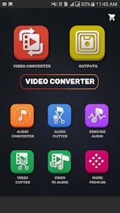 محول الفيديو، الضاغط MP4، 3GP، MKV، MOV، AVI، MTS 2