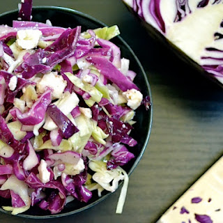 Vinaigrette Slaw with Feta Recipe