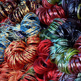 BANGLES by SANGEETA MENA  - Artistic Objects Glass (  )