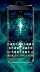 God domain door king game keyboard - náhled