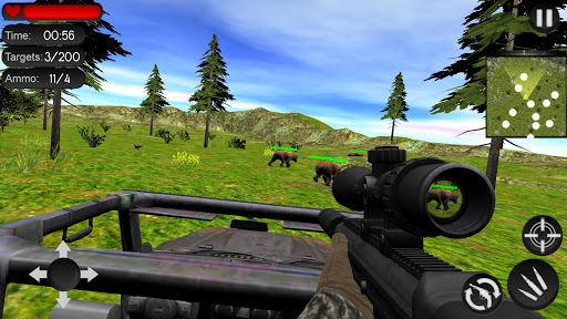 Bear Hunting on Wheels 4x4 - FPS Shooting Game 18 apkmr screenshots 3