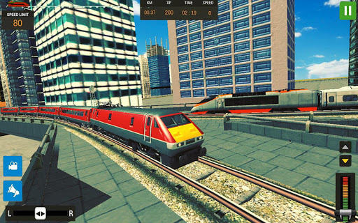 Modern Train Driving Simulator: City Train Games 2.1 screenshots 6