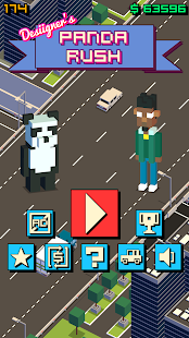 Desiigner's Panda Rush Screenshot