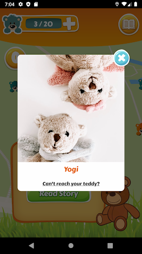 Teddy Hunt - discover teddy bear stories android2mod screenshots 5