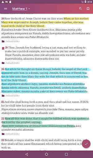 2020 English Swahili Bible Kjv Biblia Takatifu Android App Download Latest