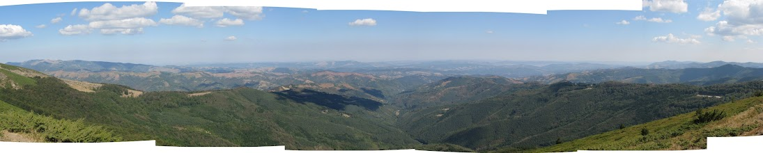 Photo: From the mountain top, view to the North