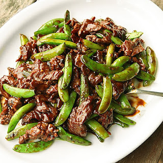 Stir-Fried Beef with Snap Peas and Oyster Sauce Recipe