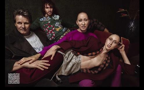 Vogue Italia screenshot
