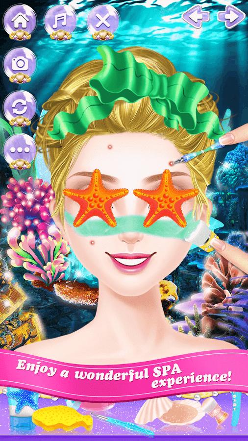Mermaid-Princess-Beauty-Salon 17