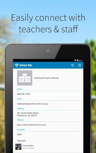 Richmond Public Schools screenshot for Android