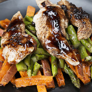 Make Meal Prep Easy And Delicious With Balsamic Chicken And Veggies.