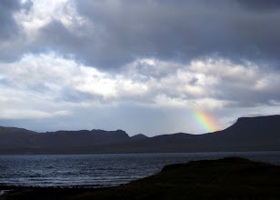 Photo: Rainbow in Snaefellness