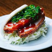 Crispy Pork Belly Bao Bun