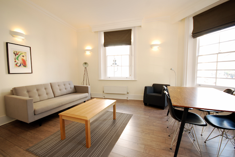 Comfy living room at Oxford Street Apartment, London